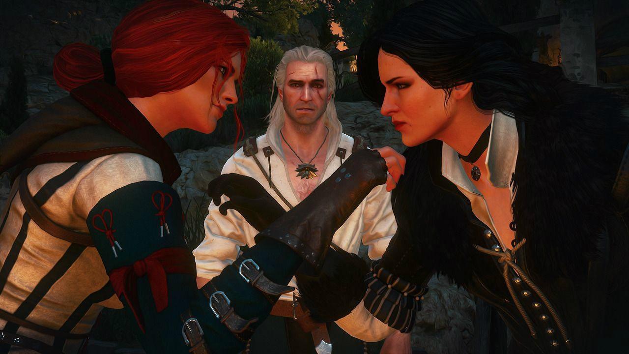 Трисс и Йеннифер ссорятся