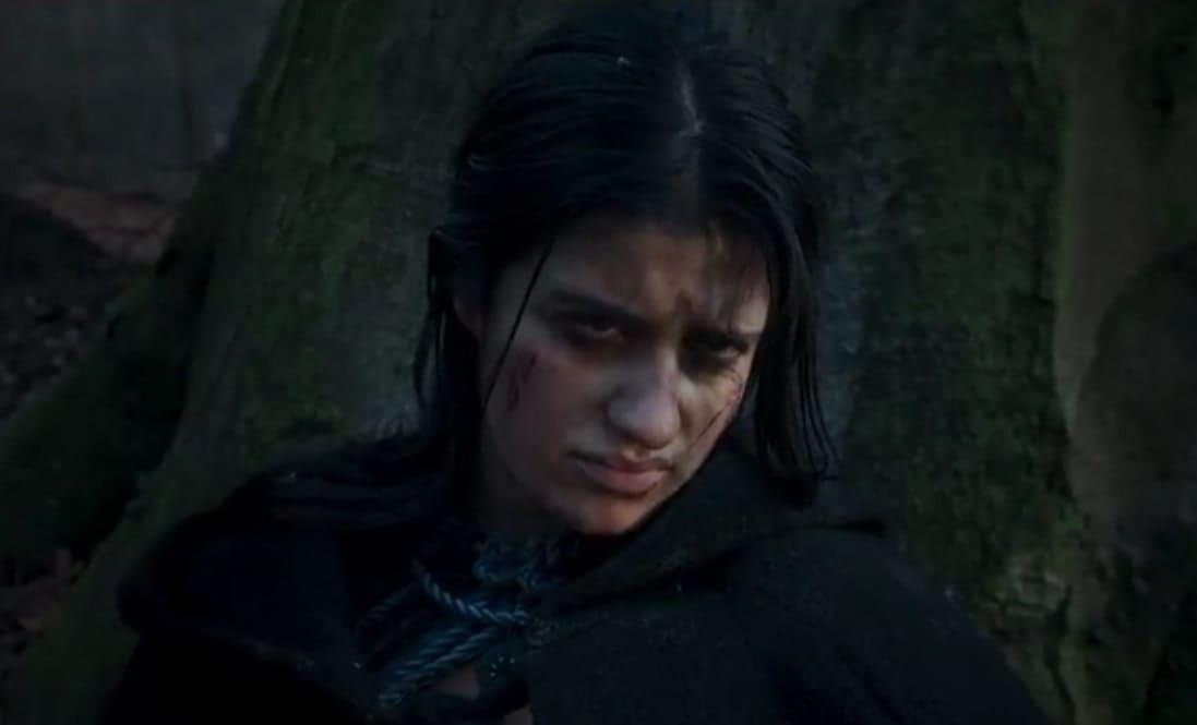 Йеннифэр в плену Нильфгаарда (кадр из тизера-трейлера 2 сезона)